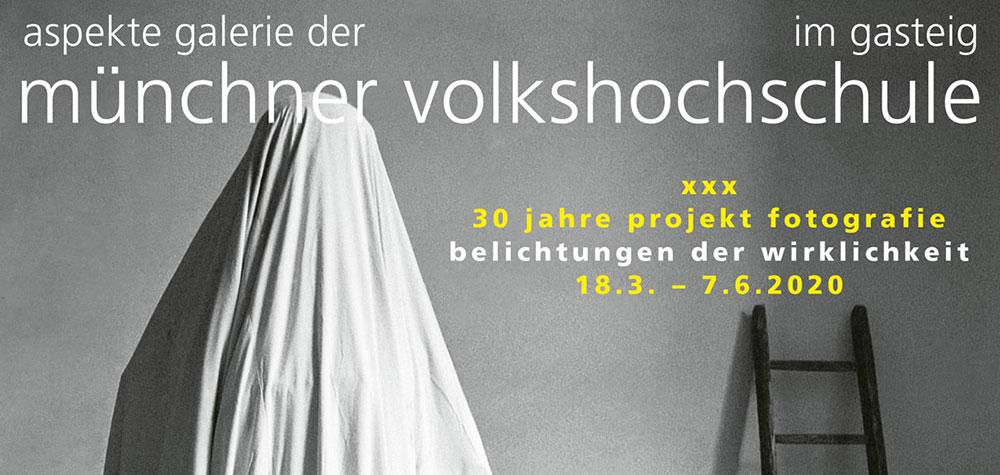 """""""XXX – das projekt fotografie Belichtungen der Wirklichkeit"""", verschoben auf Februar 2021"""