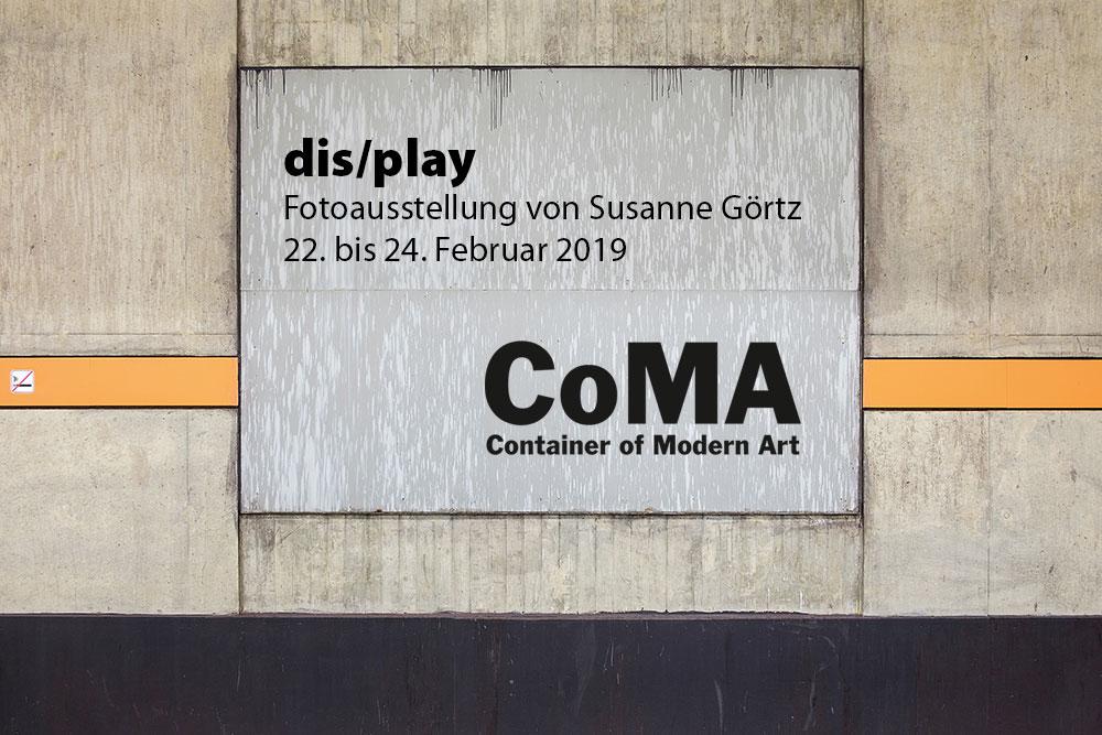"Ausstellung ""dis/play"" im CoMA"